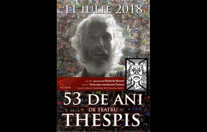 Teatrul Thespis - Aniversare 53 de ani