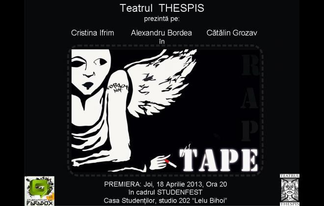 Tape - Teatrul Thespis - Afis